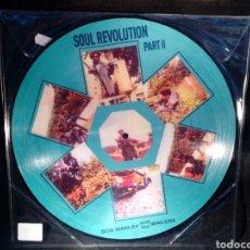 Discos de vinilo: BOB MARLEY AND THE WAILERS - SOUL REVOLUTION PART II - LP PICTURE DISC. Lote 133961399