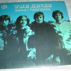 Discos de vinilo: THE KINKS – LOLA / VICTORIA - SINGLE. Lote 133961990