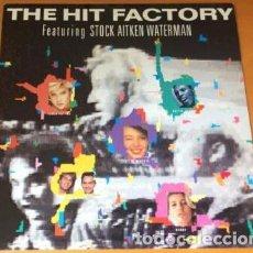 Discos de vinilo: OFERTA PROMO THE HIT FACTORY FEATURING STOCK AITKEN WATERMAN - LP JAPON. Lote 133964530