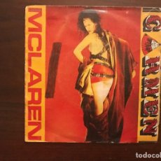 Discos de vinilo: MALCOLM MCLAREN ?– CARMEN SELLO: VIRGIN ?– A-107.088 FORMATO: VINYL, 7 , 45 RPM PAÍS: SPAIN FECHA . Lote 133967062