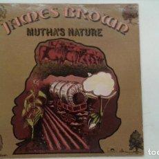 Discos de vinilo: DISCO VINILO JAMES BROWN AND THE NEW J.B.'S MUTHA'S NATURE. Lote 133969050
