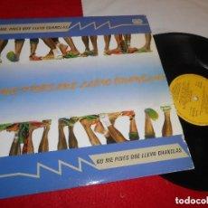 Discos de vinilo: NO ME PISES QUE LLEVO CHANCLAS - AGROPOP LP 1989 MANO NEGRA RECORDS SPAIN, EXC. Lote 133969830