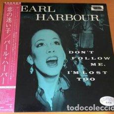 Discos de vinilo: OFERTA PROMO PEARL HARBOUR - DON'T FOLLOW ME, I'M LOST TOO - LP JAPON. Lote 133970562