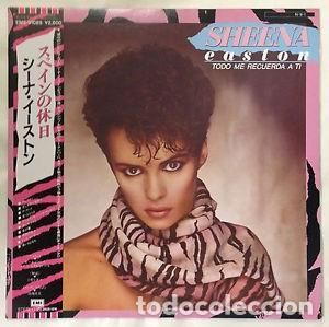 OFERTA SHEENA EASTON - TODO ME RECUERDA A TI - LP JAPON (Música - Discos de Vinilo - EPs - Pop - Rock - New Wave Internacional de los 80)