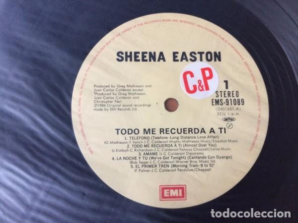 Discos de vinilo: oferta Sheena Easton - Todo Me Recuerda A Ti - LP Japon - Foto 2 - 133970758
