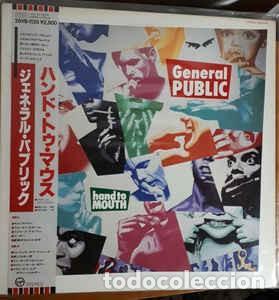 OFERTA PROMO LP JAPON - GENERAL PUBLIC - HAND TO MOUTH (Música - Discos de Vinilo - EPs - Pop - Rock - New Wave Internacional de los 80)