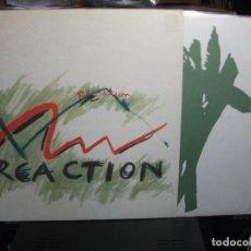 Discos de vinilo: REACTION REACTION LP GERMANY 1990 PEPETO TOP. Lote 133971150