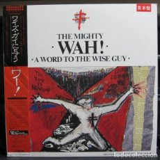 Discos de vinilo: LP JAPON PROMO + EXTRA THE MIGHTY WAH! & ARK ANGELS - A WORD TO THE WISE GUY. Lote 133971242