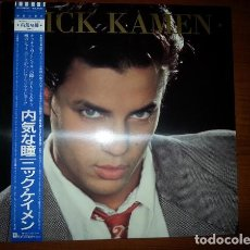 Discos de vinilo: LP JAPON NICK KAMEN – NICK KAMEN - PRODUCIDO POR MADONNA. Lote 133971386