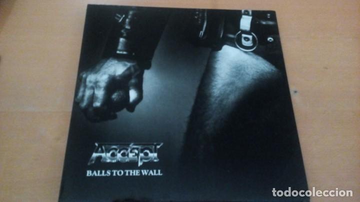 ACCEPT BALLS TO THE WALL LP 1990 (Música - Discos - LP Vinilo - Heavy - Metal)
