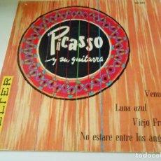 Discos de vinilo: MARCELLO PICASSO Y SU GUITARRA, EP, VENUS + 3, AÑO 1959. Lote 133978958