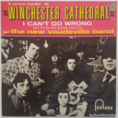 Discos de vinilo: EP - THE NEW VAUDEVILLE BAND - WINCHESTER CATHEDRAL +3 - FONTANA 465 342 TE - 1966. Lote 133982030
