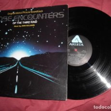 Discos de vinilo: JOHN WILLIAMS (CLOSE ENCOUNTERS, ENCUENTROS EN LA TERCERA FASE) LP USA CARPETA DOBLE. Lote 133990742
