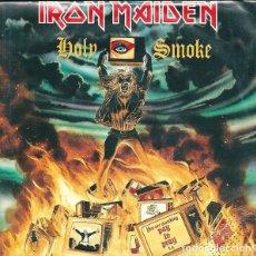 Discos de vinilo: IRON MAIDEN – HOLY SMOKE - SINGLE ITALIA PRESSING RAREZA. Lote 133994182