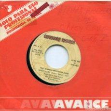 Discos de vinilo: THE ALLMAN BROTHERD BAND / CRAZY LOVE / JUST AIN'T EASY (SINGLE PROMO 1979). Lote 133995842