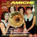 Discos de vinilo: LE AMICHE (EN ESPAÑOL) / DEJALA + 3 (EP 1965). Lote 133996162