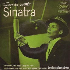 Discos de vinilo: EP-FRANK SINATRA SESSION WITH... CAPITOL 1-629 SPAIN. Lote 133997542