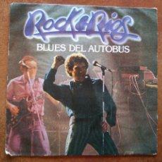Discos de vinilo: MIGUEL RIOS - BLUES DEL AUTOBUS (SG) 1982. Lote 133999262