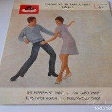 Discos de vinilo: HORST WENDE, EP, THE PEPPERMINT TWIST + 3, AÑO 1963. Lote 134000090