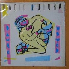 Discos de vinilo: RADIO FUTURA - DANCE USTED / TUS PASOS - MAXI. Lote 133890811
