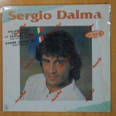 Discos de vinilo: SERGIO DALMA - SERGIO DALMA - MAXI. Lote 133892230