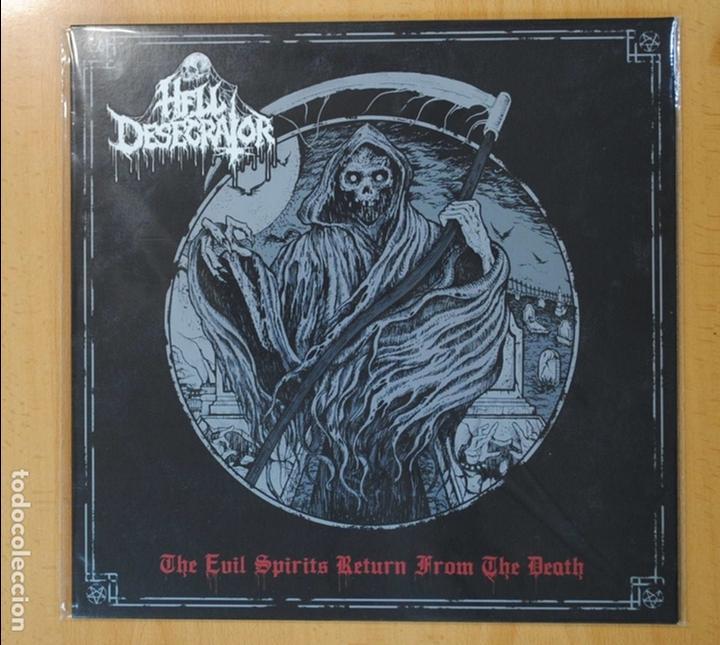 HELL DESECRATOR - THE EVIL SPIRITS RETURN FROM THE DEATH - LP (Música - Discos - LP Vinilo - Heavy - Metal)