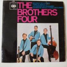 Discos de vinilo: THE BROTHERS FOUR- SOLDADO DE JUGUETE - SPAIN EP 1963 - EXC. ESTADO.. Lote 134008478
