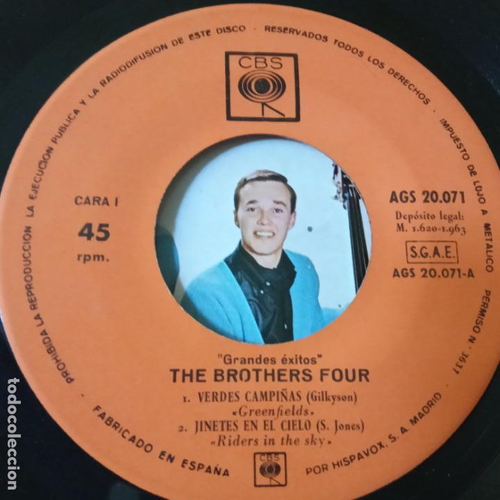 Discos de vinilo: THE BROTHERS FOUR- SOLDADO DE JUGUETE - SPAIN EP 1963 - EXC. ESTADO. - Foto 3 - 134008478