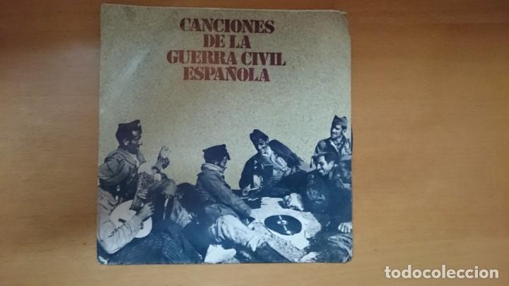 DISCO VINILO CANCIONES GUERRA CIVIL (Música - Discos - Singles Vinilo - Otros estilos)