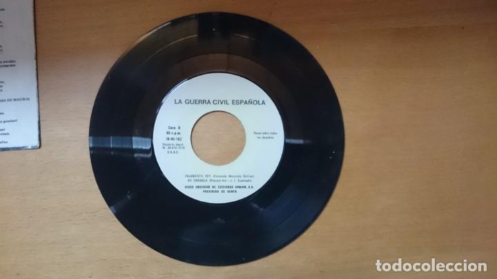 Discos de vinilo: DISCO VINILO CANCIONES GUERRA CIVIL - Foto 3 - 134011922