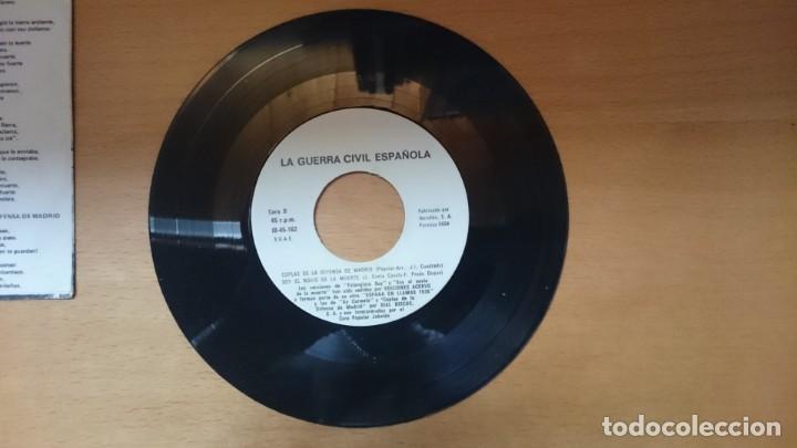 Discos de vinilo: DISCO VINILO CANCIONES GUERRA CIVIL - Foto 4 - 134011922