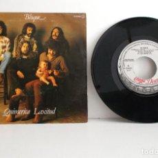 Discos de vinilo: BLOQUE - QUIMÉRICA LAXITUD - SINGLE - CHAPA DISCOS H-33053 - SPAIN 1980 EX/VG+. Lote 134012286