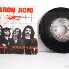 Discos de vinilo: BARÓN ROJO - CON BOTAS SUCIAS - SINGLE - CHAPA DISCOS H-33058 - SPAIN 1981 NM/EX. Lote 134012862