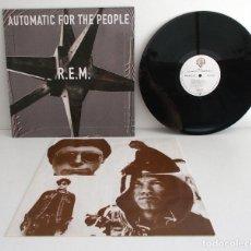 Discos de vinilo: R.E.M. - AUTOMATIC FOR THE PEOPLE -LP- WARNER 9362-45055-1 EX/NM EUROPE 1992 1ST. Lote 134013502
