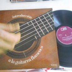 Discos de vinilo: SAMUEL MARTIN - LP INTRODUCCION A LA GUITARRA FLAMENCA-LIBRETO CON PARTITURAS. Lote 134013678