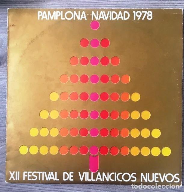 FESTIVAL DE VILLANCICOS NUEVOS - PAMPLONA, 1978 (Música - Discos - LP Vinilo - Otros estilos)