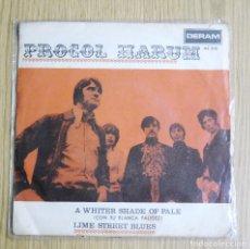 Discos de vinilo: PROCOL HARUM -- A WHITER SHADE OF PALE AÑO 1967 ORIGINAL DERAM ME 323 MUY BUSCADO. Lote 134021646
