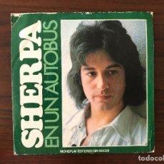 Discos de vinilo: SHERPA – EN UN AUTOBÚS SELLO: MOVIEPLAY ?– SN-90029 FORMATO: VINYL, 7 45 RPM, SINGLE PAÍS: SPAIN . Lote 134023902