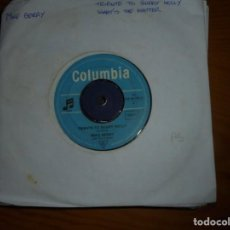 Discos de vinilo: MIKE BERRY. TRIBUTE TO BUDDY HOLLY / WHAT´S THE MATTER. COLUMBIA. EDC. ALEMANA. Lote 134025354