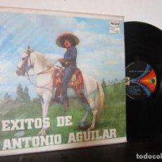 Discos de vinilo: EXITOS DE ANTONIO AGUILAR COLOMBIA YO EL AVENTURERO MIL PUÑALADAS LP T10 VG CARATULA NO COMUN. Lote 180147585