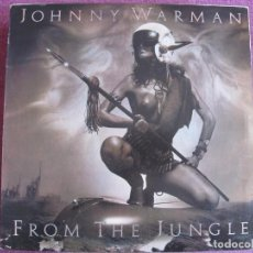 Discos de vinilo: LP - JOHNNY WARMAN (ROCK, POP ROCK) – FROM THE JUNGLE TO THE NEW HORIZONS. Lote 134027006