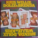 Discos de vinilo: LP - KRIS, WILLIE, DOLLY AND BRENDA - THE WINNING HAND (DOBLE DISCO, USA, MONUMENT RECORDS 1982). Lote 134028862