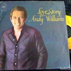 Discos de vinilo: ANDY WILLIAMS - LOVE STORY. Lote 134031542