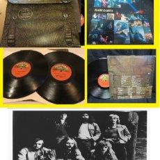 Discos de vinilo: RARE EARTH / IN CONCERT 1971 - GET READY, DOBLE LP, 1ª CARPETA MOCHILA, ORIG EDIT USA + POSTER, EXC. Lote 195065118