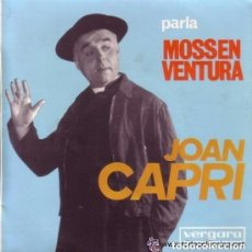 Discos de vinilo: JOAN CAPRI - PARLA MONSSEN VENTURA - SINGLE VERGARA 1965. Lote 134032202