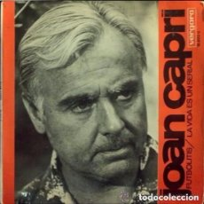 Discos de vinilo: JOAN CAPRI FUTBOLITIS LA VIDA ES UN SERIAL SINGLE VERGARA 1967. Lote 134032702