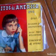 Discos de vinilo: DISCO EXITOS DE AMERICA N,6. Lote 134035098