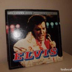 Discos de vinilo: ELVIS -MITOS MUSICALES --CIRCULO DE LECTORES -RCA- AÑOS 1960-1971-ESPAÑA-2LPS -. Lote 134035406