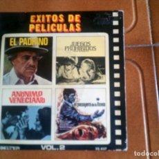 Discos de vinilo: DISCO EXITOS DE PELICULAS. Lote 134035438