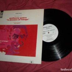 Discos de vinilo: BANDA SONORA ORIGINAL LP A DREAM OF KINGS, SUEÑO DE REYES MUSICA DE ALEX NORTH.. Lote 134035722